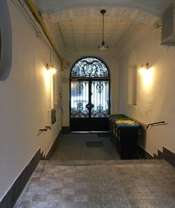 Entrance has automatic light that will turn on when you step inside