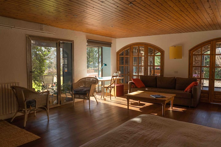 Loft in the Pyrenees. Best place to relax.