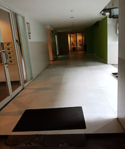 entryway from the carpark in Basement floor