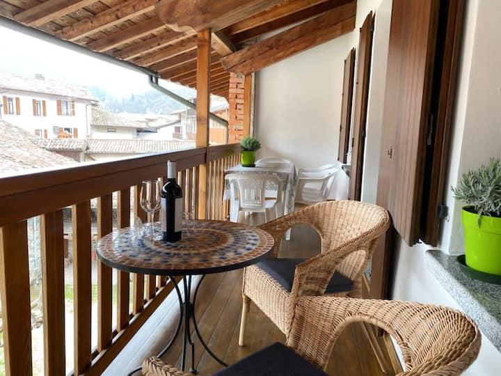 Casa Enrica 2,bis 4 Pers., ruhig, nur 300m zum See