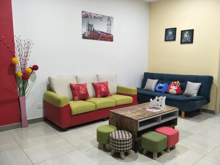 Octagon Ipoh Homestay - One bedroom unit - 8-21-3