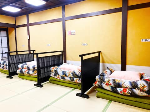 Guest House Matsukiso- 1Futon (Female女性-Dormitory)