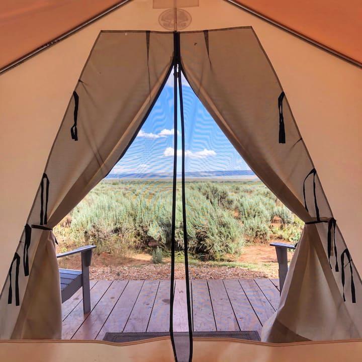 Glamping by Kanab! Hayduke Tent at BaseCamp37°