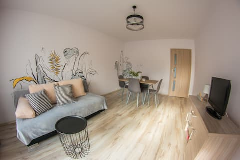 apartment on Mrągowo lake