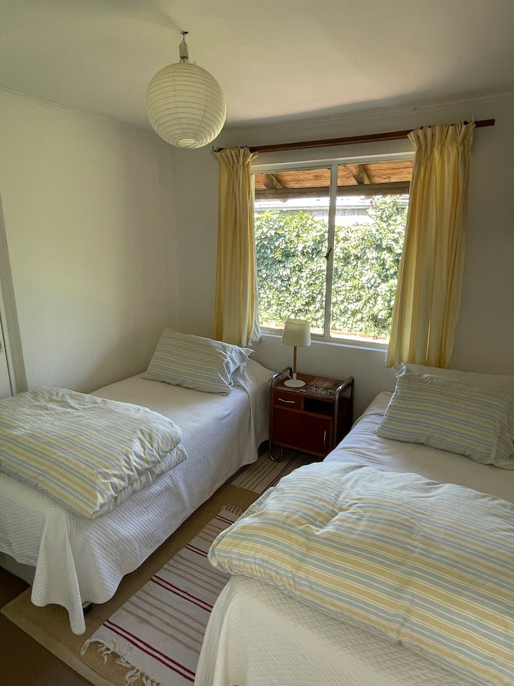 Double room in cozy house well located house