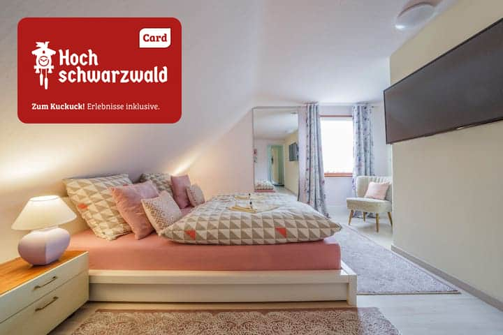 Romantik-Ferienwohng. gr. Bad, 2 min. zum Titisee