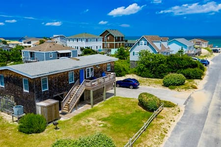 Two Fish Cottage Steps 2Beach Oceanview CLEAN 4 BR