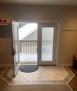 French door entry