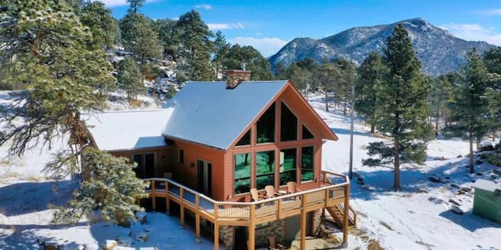 Longs Peak Legacy Cabin