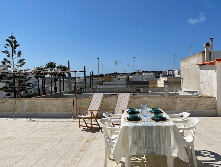 Cozy apartment in the heart of Leuca