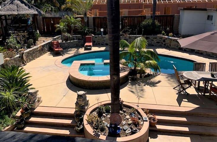 Tropical Beach Retreat w/Private Pool & Hot Tub!