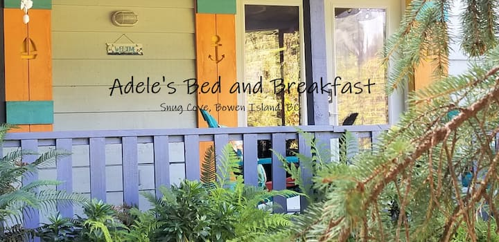 Adele's Bed & Breakfast - Snug Cove, Bowen Island