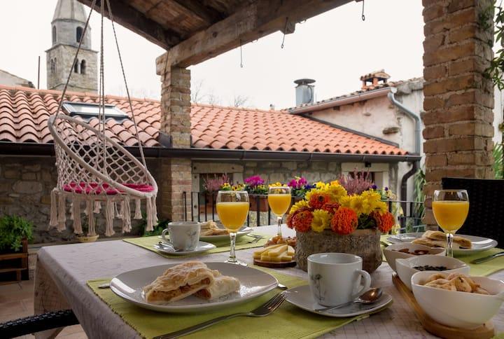 "Apartment ""Roža"" with beautiful balcony"