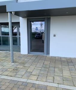 Door from car park. No steps.