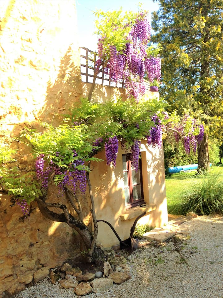 Les Papillons cottage, pool, garden, top location