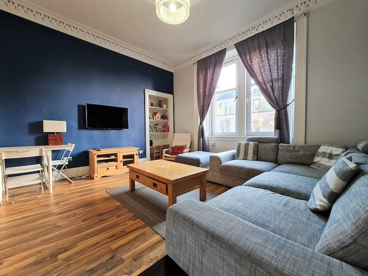 ✷Edinburgh Victorian Apartment✷3 bed✷Very Central✷