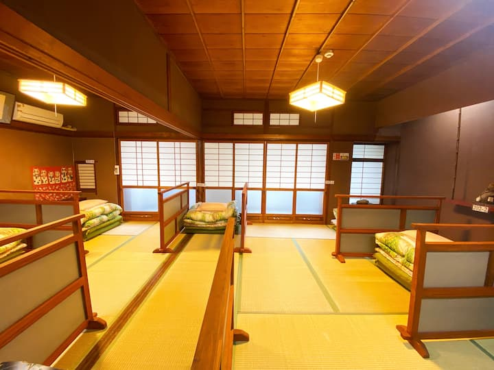 Guest House Matsukiso - 1 Futon (Mixed Dormitory)