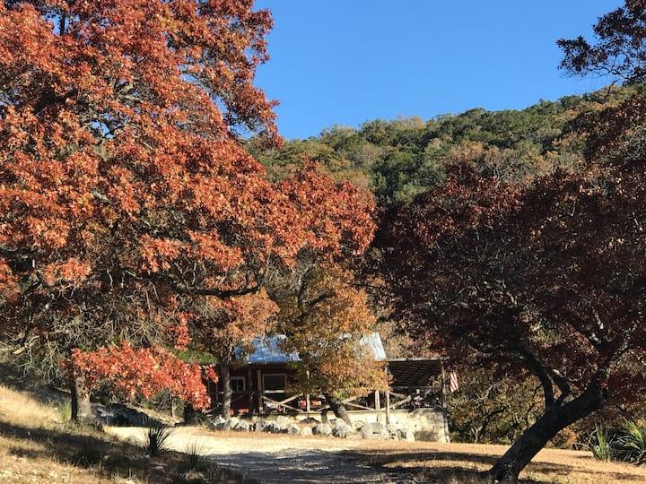 Retreat To Mill Creek Canyon,     Leakey TX