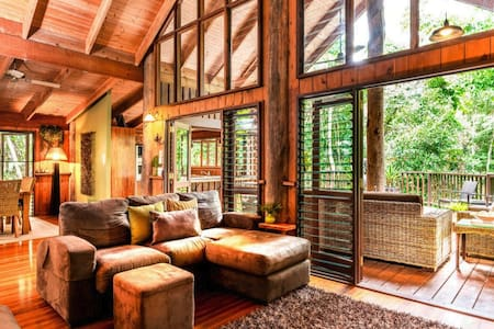 ❤️Kardinia House ❤️ Ultimate Rainforest Retreat!