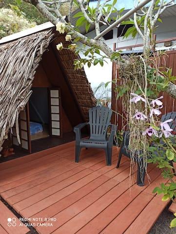 Petit coin de jardin pour une tente tahitienne - 1