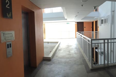 Located at the 2nd floor, our unit at the far end is just a few steps away.