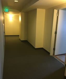 Wide entry to unit
