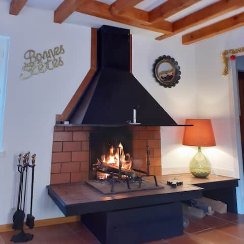 La Bergerie en pays Cathare: 3 chambres,  cosy.
