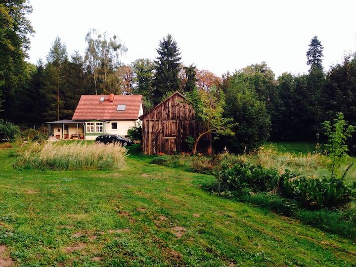 Süßes Haus in der Uckermark. Zuhause mit Aussicht.