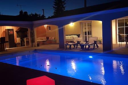 Cosy & Charme Bassin d'Arcachon piscine chauffée