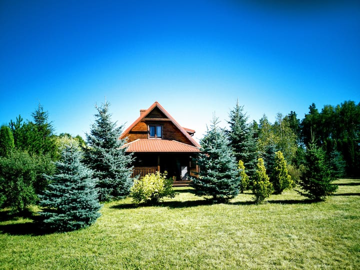 Dom  Mikołajki, Ryn  jezioro Tałtowisko
