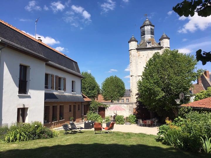 chambre d'hôte Saint-Riquier proche Baie de Somme