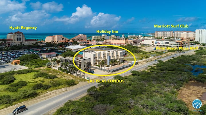Spotless Condo in front of HYATT– PERFECT location