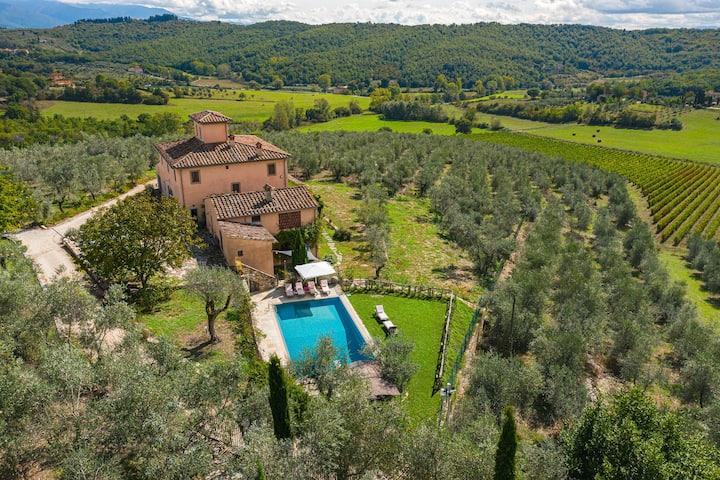 La Leopoldina, luxury villa close to Florence