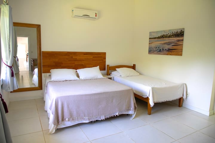 Suite 2 com varanda -Térreo