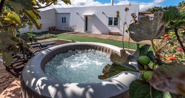 Casa con jacuzzi Aicá Maragá. Aeropuerto de G. C.