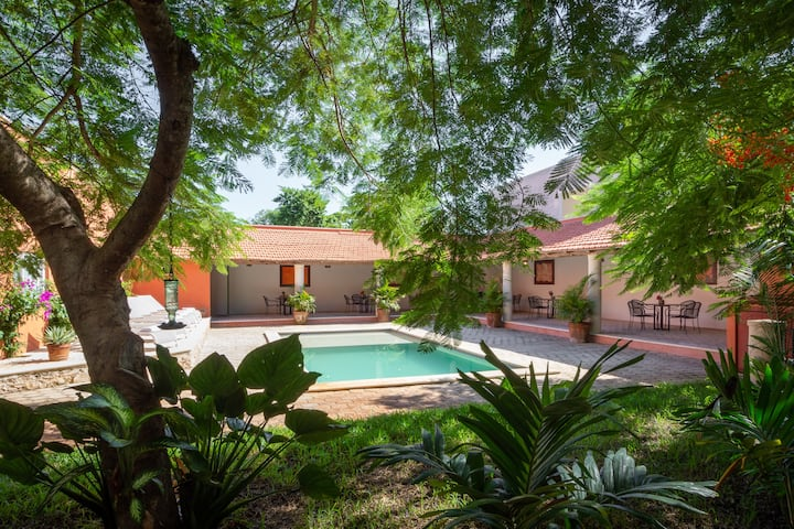 Luxury Yucatan Hacienda In Town | Vacation Rental