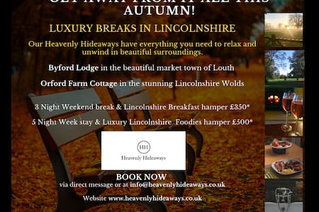 Book now! @HEAVENLY HIDEAWAYS 4* Gold ORFORD FARM