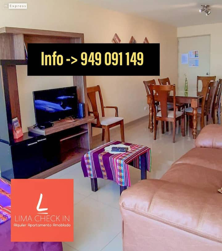 ☼FRONT OF SEA, 3BR APARTMENT In SAN MIGUEL☼