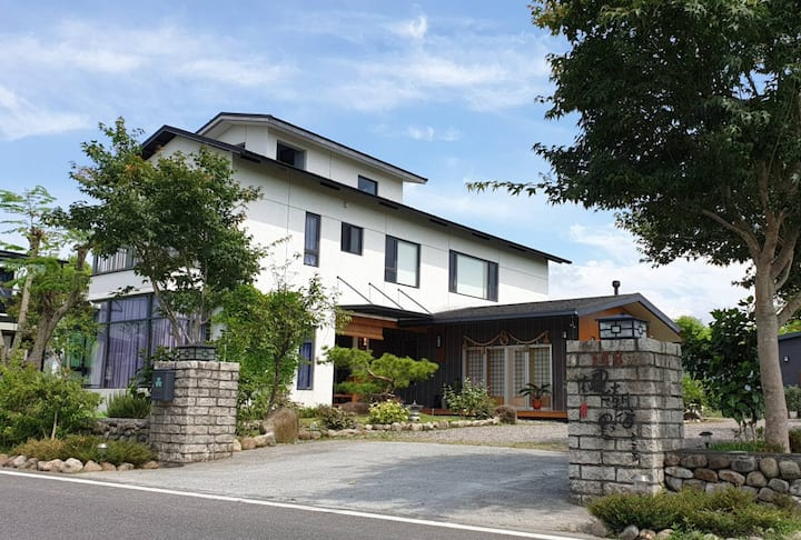 楓潮宿墅BnB-輕日式獨棟庭園別墅(8-12人)