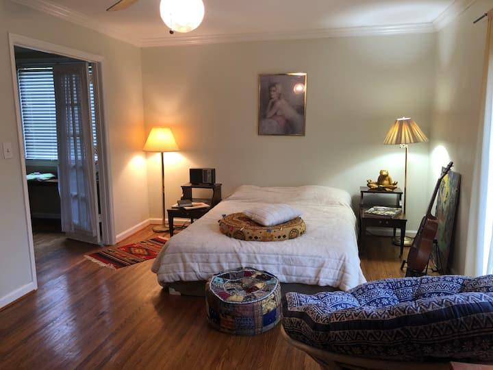 Fork Inn Hemp House Master bedroom