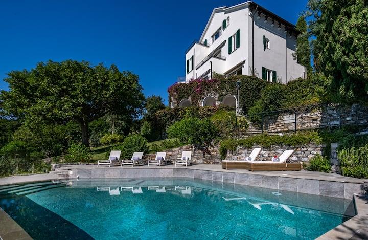 Villa Cristina luxury property in Rapallo