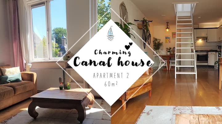 Romantic apartment, Canal View!