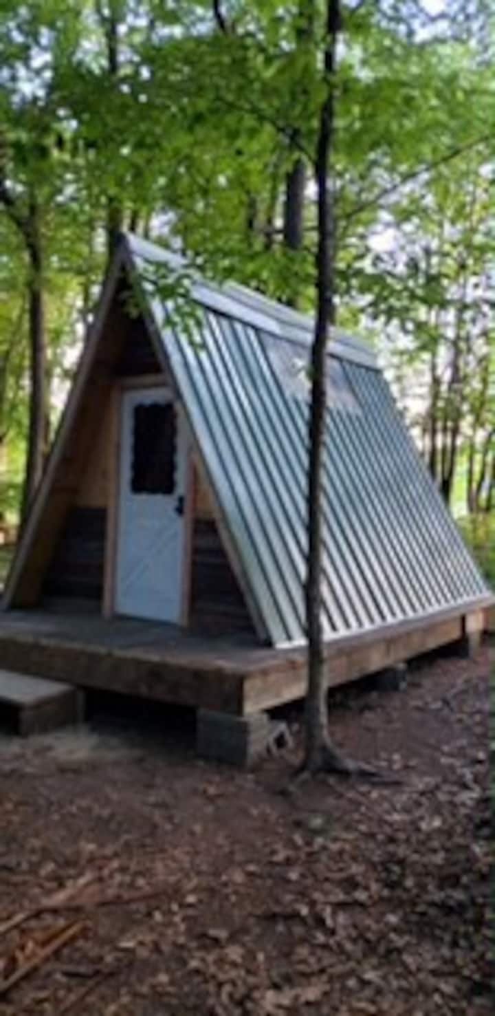 Flint Hill Farm Outdoor Aframe Camping option