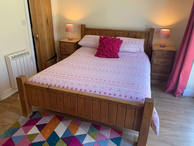There is a king size bed in the bedroom with an electric blanket available for guests too.