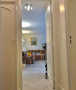 Couloir desservent le salon / cuisine
