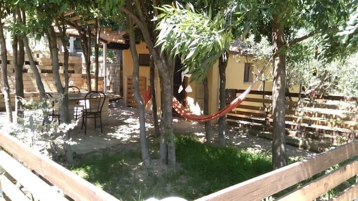 BUBO - Monolocale recintato - cucina - piscina