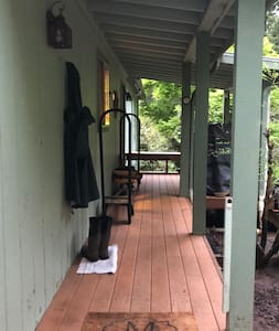 Front entry to home.