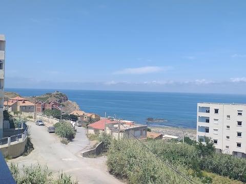 Superbe appart avec vue sur mer à Dellys
