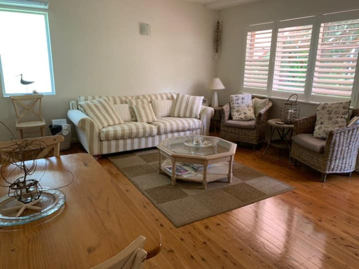 Ground floor apartment, pets welcome