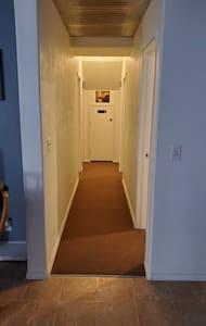 Wide hallways